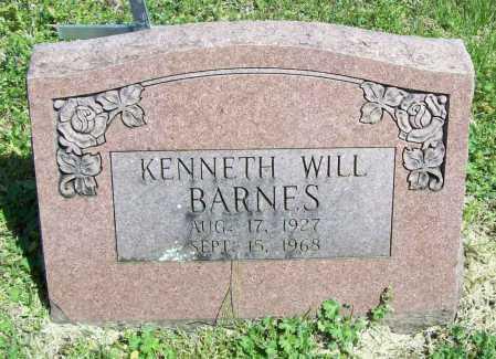 BARNES, KENNETH WILL - Benton County, Arkansas | KENNETH WILL BARNES - Arkansas Gravestone Photos