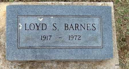 BARNES, LOYD S. - Benton County, Arkansas   LOYD S. BARNES - Arkansas Gravestone Photos