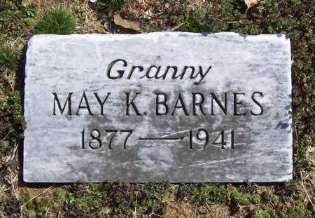 BARNES, MAY K. - Benton County, Arkansas | MAY K. BARNES - Arkansas Gravestone Photos