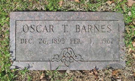 BARNES, OSCAR T - Benton County, Arkansas | OSCAR T BARNES - Arkansas Gravestone Photos