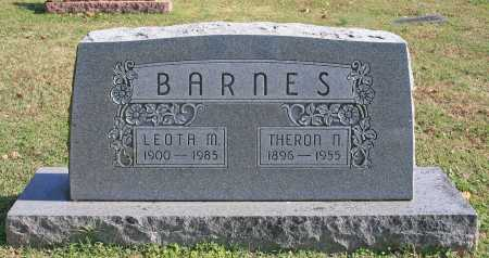 BARNES, THERON NELSON - Benton County, Arkansas | THERON NELSON BARNES - Arkansas Gravestone Photos