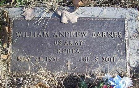 BARNES (VETERAN KOR), WILLIAM ANDREW - Benton County, Arkansas | WILLIAM ANDREW BARNES (VETERAN KOR) - Arkansas Gravestone Photos
