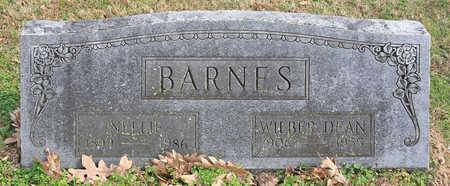 BARNES, NELLIE - Benton County, Arkansas | NELLIE BARNES - Arkansas Gravestone Photos