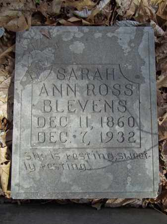 MAHURIN ROSS, SARAH ANN - Benton County, Arkansas | SARAH ANN MAHURIN ROSS - Arkansas Gravestone Photos