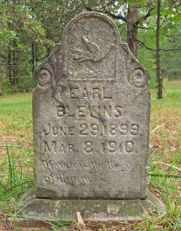BLEVINS, EARL - Benton County, Arkansas | EARL BLEVINS - Arkansas Gravestone Photos