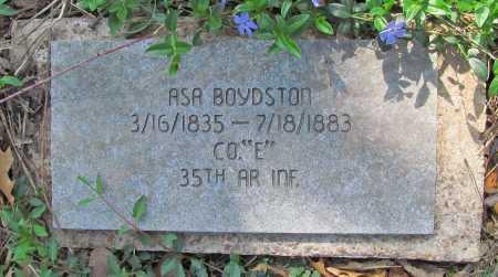 BOYDSTON (VETERAN CSA), ASA - Benton County, Arkansas | ASA BOYDSTON (VETERAN CSA) - Arkansas Gravestone Photos