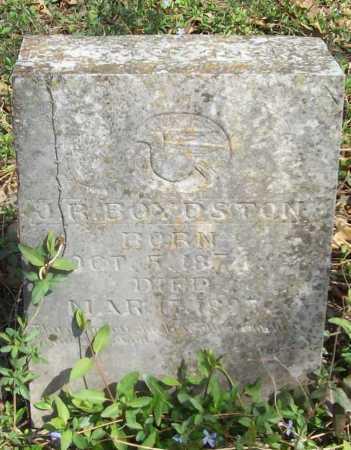 BOYDSTON, J R - Benton County, Arkansas | J R BOYDSTON - Arkansas Gravestone Photos