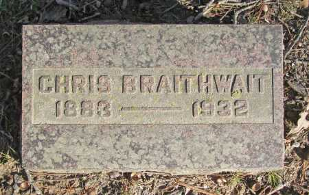 BRAITHWAIT, CHRIS - Benton County, Arkansas   CHRIS BRAITHWAIT - Arkansas Gravestone Photos