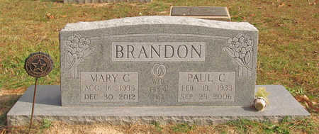 WEBER BRANDON, MARY CLARA - Benton County, Arkansas | MARY CLARA WEBER BRANDON - Arkansas Gravestone Photos