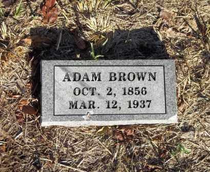 BROWN, ADAM - Benton County, Arkansas | ADAM BROWN - Arkansas Gravestone Photos