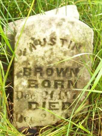 BROWN, AUSTIN - Benton County, Arkansas   AUSTIN BROWN - Arkansas Gravestone Photos