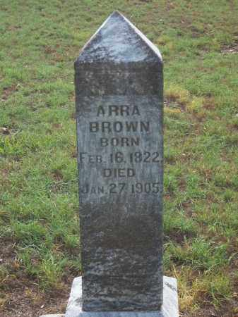 BROWN, ARRA - Benton County, Arkansas | ARRA BROWN - Arkansas Gravestone Photos