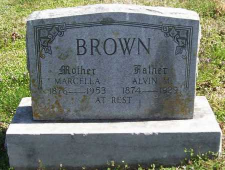 BROWN, ALVIN M. - Benton County, Arkansas | ALVIN M. BROWN - Arkansas Gravestone Photos