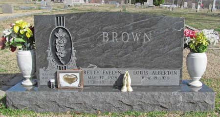 BROWN, LOUIS ALBERTON - Benton County, Arkansas | LOUIS ALBERTON BROWN - Arkansas Gravestone Photos