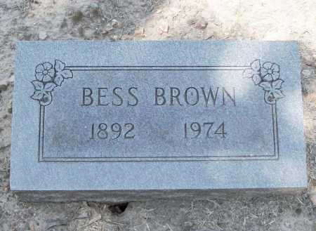 BROWN, BESS - Benton County, Arkansas   BESS BROWN - Arkansas Gravestone Photos