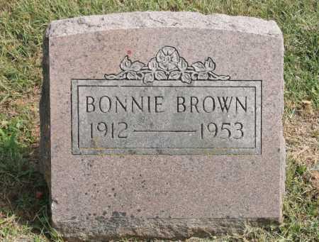 BROWN, BONNIE - Benton County, Arkansas   BONNIE BROWN - Arkansas Gravestone Photos
