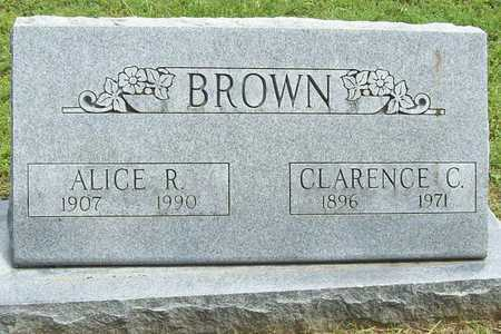 BROWN, ALICE R - Benton County, Arkansas | ALICE R BROWN - Arkansas Gravestone Photos