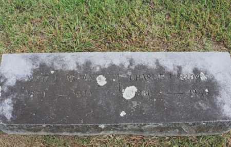 BROWN, KATIE E. - Benton County, Arkansas   KATIE E. BROWN - Arkansas Gravestone Photos