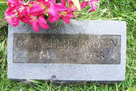 BROWN, C. A. ALLIE - Benton County, Arkansas   C. A. ALLIE BROWN - Arkansas Gravestone Photos