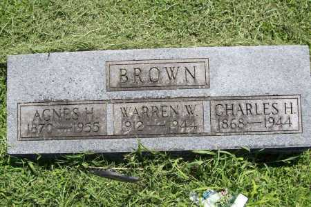 BROWN, CHARLES H. - Benton County, Arkansas   CHARLES H. BROWN - Arkansas Gravestone Photos
