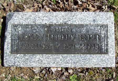 BROWN, CLEMZEY ANN - Benton County, Arkansas   CLEMZEY ANN BROWN - Arkansas Gravestone Photos
