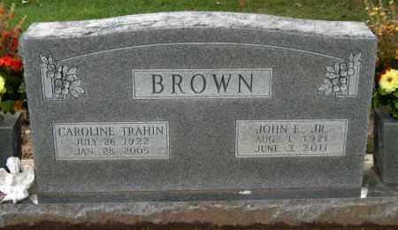 BROWN, ELLA CAROLINE - Benton County, Arkansas   ELLA CAROLINE BROWN - Arkansas Gravestone Photos