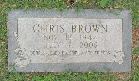 BROWN, CHRIS WILLIAM - Benton County, Arkansas   CHRIS WILLIAM BROWN - Arkansas Gravestone Photos