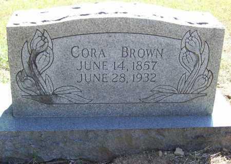 BROWN, CORA - Benton County, Arkansas | CORA BROWN - Arkansas Gravestone Photos