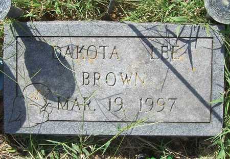 BROWN, DAKOTA LEE - Benton County, Arkansas | DAKOTA LEE BROWN - Arkansas Gravestone Photos
