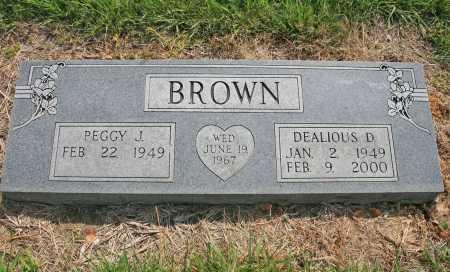 BROWN, DEALIOUS D. - Benton County, Arkansas | DEALIOUS D. BROWN - Arkansas Gravestone Photos
