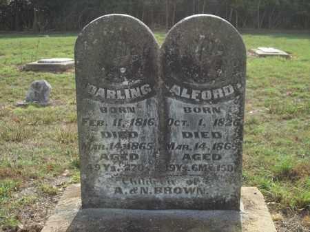 BROWN, DARLING - Benton County, Arkansas   DARLING BROWN - Arkansas Gravestone Photos