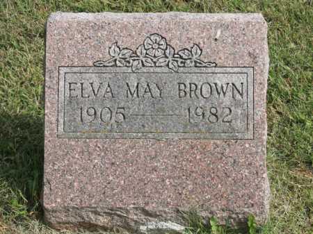 BROWN, ELVA MAY - Benton County, Arkansas   ELVA MAY BROWN - Arkansas Gravestone Photos