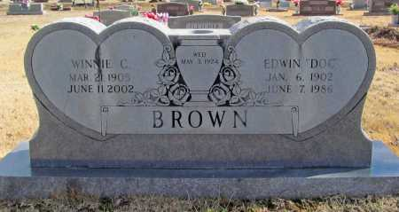 BROWN, WINNIE C - Benton County, Arkansas | WINNIE C BROWN - Arkansas Gravestone Photos