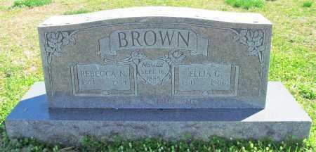 BROWN, ELIJA G. - Benton County, Arkansas | ELIJA G. BROWN - Arkansas Gravestone Photos