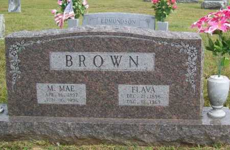 BROWN, M. MAE - Benton County, Arkansas | M. MAE BROWN - Arkansas Gravestone Photos