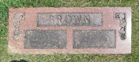 BROWN, GRACIE - Benton County, Arkansas | GRACIE BROWN - Arkansas Gravestone Photos