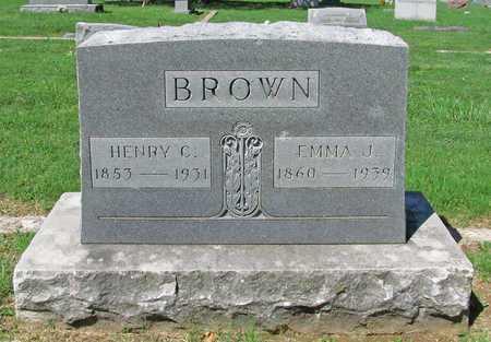 BROWN, HENRY C - Benton County, Arkansas | HENRY C BROWN - Arkansas Gravestone Photos