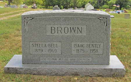 BROWN, ISAAC BENTLY - Benton County, Arkansas | ISAAC BENTLY BROWN - Arkansas Gravestone Photos