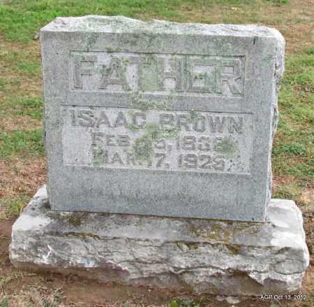 BROWN, ISAAC - Benton County, Arkansas | ISAAC BROWN - Arkansas Gravestone Photos