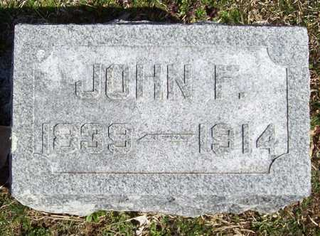 BROWN, JOHN F - Benton County, Arkansas | JOHN F BROWN - Arkansas Gravestone Photos