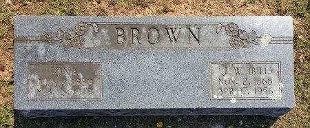 BROWN, IONA - Benton County, Arkansas   IONA BROWN - Arkansas Gravestone Photos