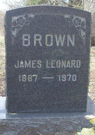 BROWN, JAMES LEONARD - Benton County, Arkansas | JAMES LEONARD BROWN - Arkansas Gravestone Photos