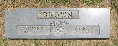 BROWN, JOHN BARTON - Benton County, Arkansas   JOHN BARTON BROWN - Arkansas Gravestone Photos