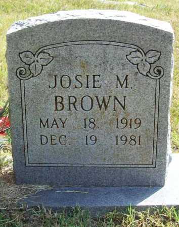 BROWN, JOSIE MAE - Benton County, Arkansas | JOSIE MAE BROWN - Arkansas Gravestone Photos