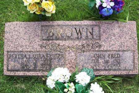 BROWN, BERTHA LAURA - Benton County, Arkansas | BERTHA LAURA BROWN - Arkansas Gravestone Photos