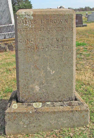 BROWN, JAMES I - Benton County, Arkansas   JAMES I BROWN - Arkansas Gravestone Photos