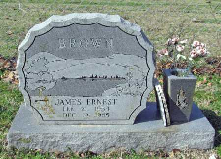 BROWN, JAMES ERNEST - Benton County, Arkansas | JAMES ERNEST BROWN - Arkansas Gravestone Photos