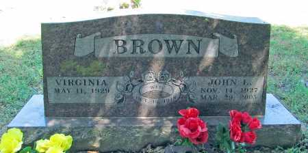BROWN, JOHN LAFAYETTE - Benton County, Arkansas | JOHN LAFAYETTE BROWN - Arkansas Gravestone Photos