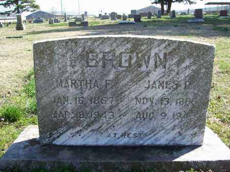 BROWN, JAMES P. - Benton County, Arkansas   JAMES P. BROWN - Arkansas Gravestone Photos