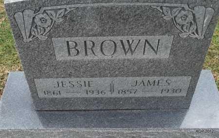 BROWN, JAMES - Benton County, Arkansas | JAMES BROWN - Arkansas Gravestone Photos